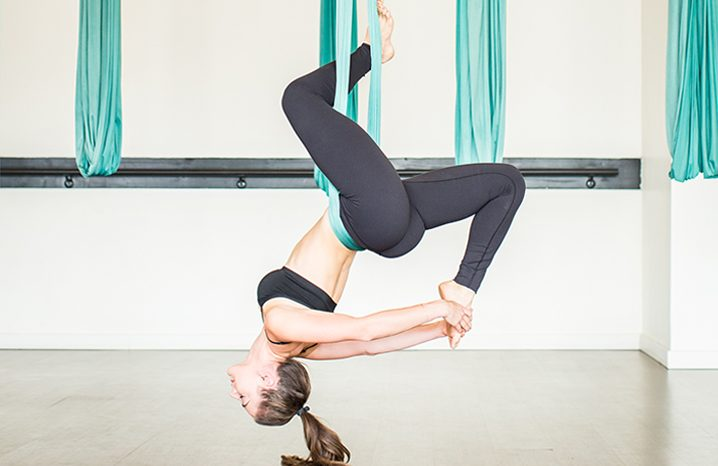 Take Aerial Classes For A Change In Your Fitness Routine.